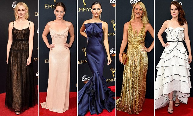 Emmy Awards red carpet led by Priyanka Chopra, Sofia Vergara and Emily Ratajkowski