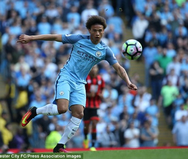 Leroy Sane Could Make His First Start For Manchester City Against Swansea On Wednesday