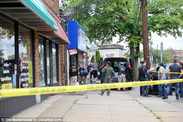 Investigators have searched the home Ahmad Khan Rahami in Elizabeth, New Jersey