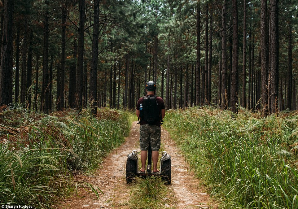 Take a relaxed Segway ride through the Storms River Village and into the surrounding forest with Segway Fun