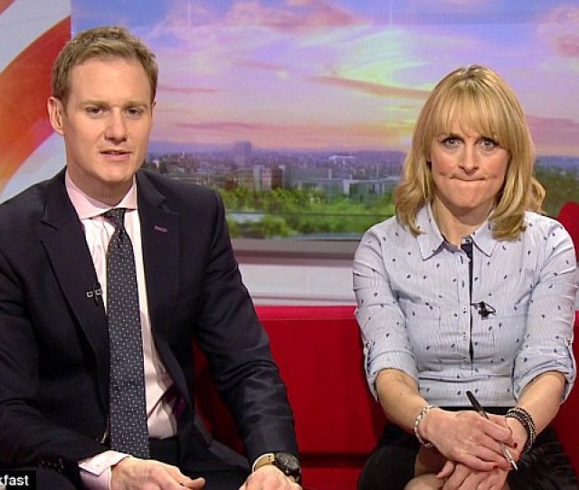 Bbc Breakfast Stars Louise Minchin And Dan Walker Pictured Were Sent Terrifying Emails By