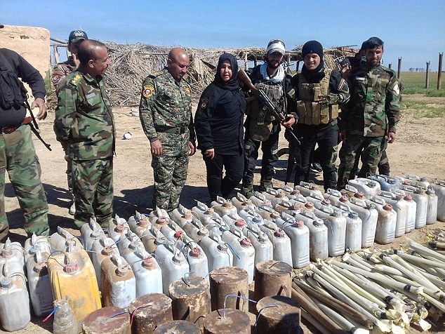 Surveying resources in Iraq, Um Hanadi is one of the most feared figures by ISIS
