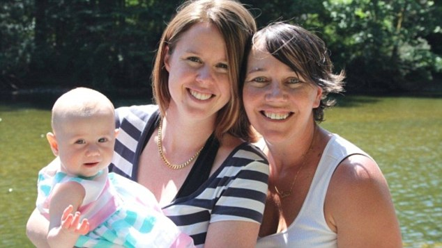 Lauren Etchells, 31 (left), is accused of lying to passport officials to obtain documents for her daughter Kaydance so she could flee Canada without the knowledge of her ex-partner Tasha