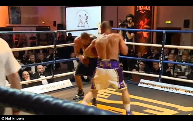 Dundee fighter Towell, 25, was taken from the ring on a stretcher in the fifth round of his welterweight title final eliminator with Dale Evans on Thursday night
