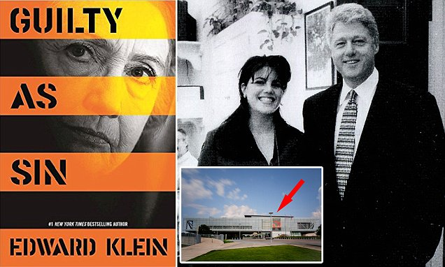Edward Klein's book details Bill Clinton's romps inside presidential library penthouse