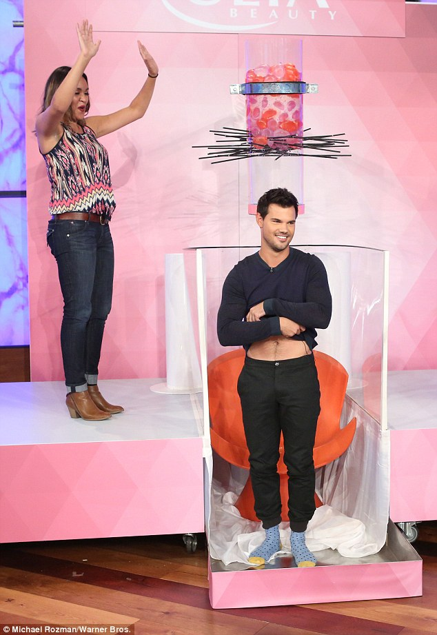 Taylor Lautner Interview Ellen
