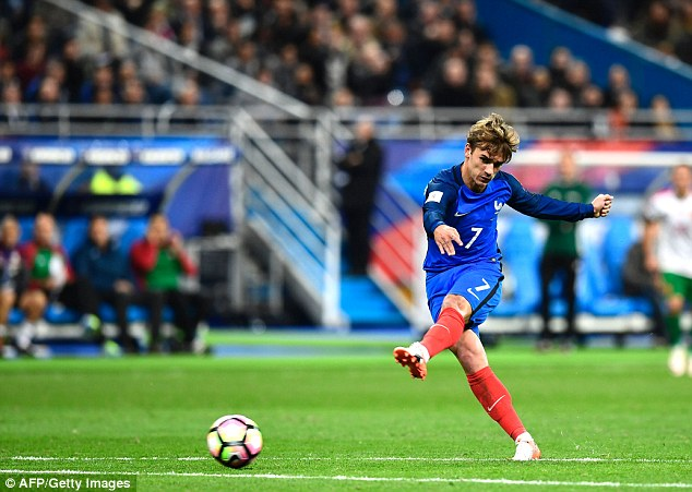 France poster boy Griezmann was given too much space to score France's third goal