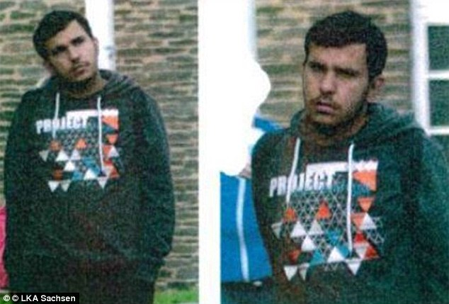 The suspect has been named as Jaber Alkbar - a Syrian who was under surveillance by the Federal Office for Constitutional Protection in Cologne, say reports
