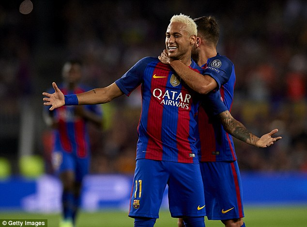 Both Manchester clubs, Real Madrid and PSG were all willing to meet Neymar's £170m clause