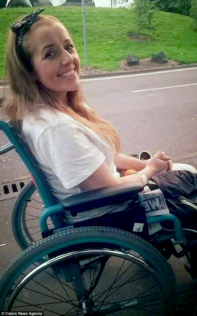 She is now on 29 different medications a day and reliant on a wheelchair as the illness attacks her organs and threatens to take her life