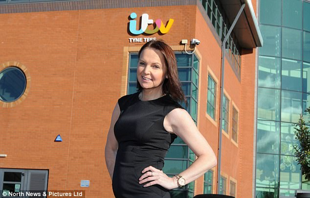 After deciding she wanted to return to her 'dream job' of broadcasting, she rejoined ITV Border last month in a freelance role