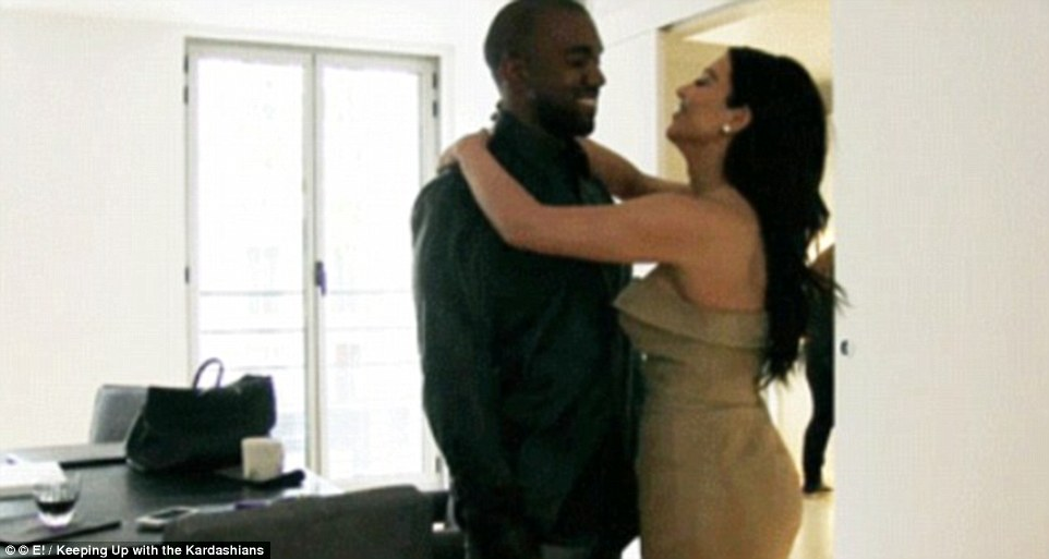 Abdulrahman believes that police have handled the investigation badly and offered him little support. Pictured: Kim with Kanye in the apartment during their show 'Keeping Up With The Kardashians'
