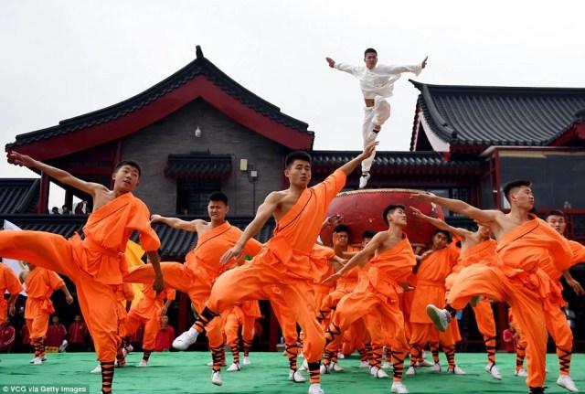 11th Zhengzhou International Shaolin Kung Fu Festival in Dengfeng