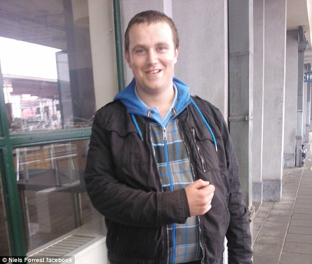Niels Forrest, pictured, died after he gave the keys of his car to a 17-year-old Jordy Kinoo who smashed the vehicle into a lamp post and rolled the Citroen C2 onto its roof in May 2015