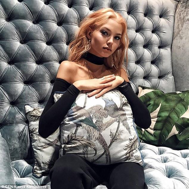 Teenage Model Alesya Kafelnikova Wins Over Fans At Moscow