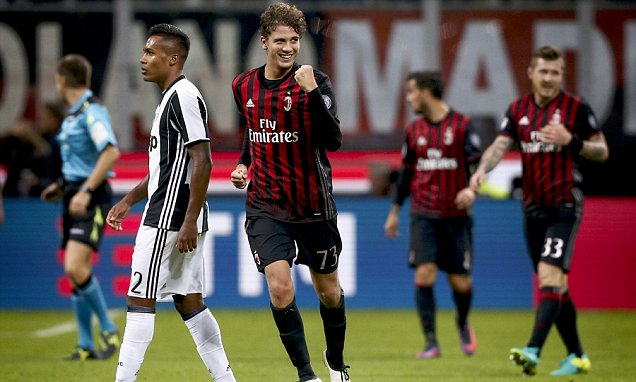 Image result for AC Milan 1-0 Juventus: Locatelli stunner sees off champions