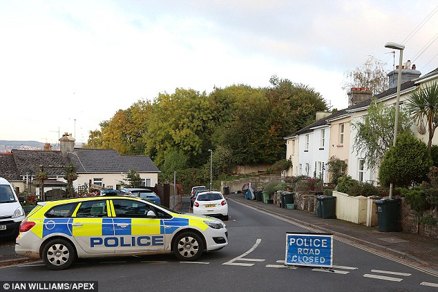 They then investigated his former home in Devon, where they found another suspicious device