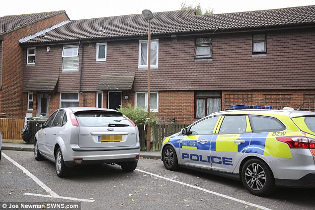 Police found a blank-firing, self-loading pistol at his home (pictured) in Bermondsey and discovered he had uploaded a video of him firing the gun to YouTube