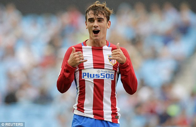 Atletico Madrid's Antoine Griezmann has been crowned the best La Liga player for 2015-16