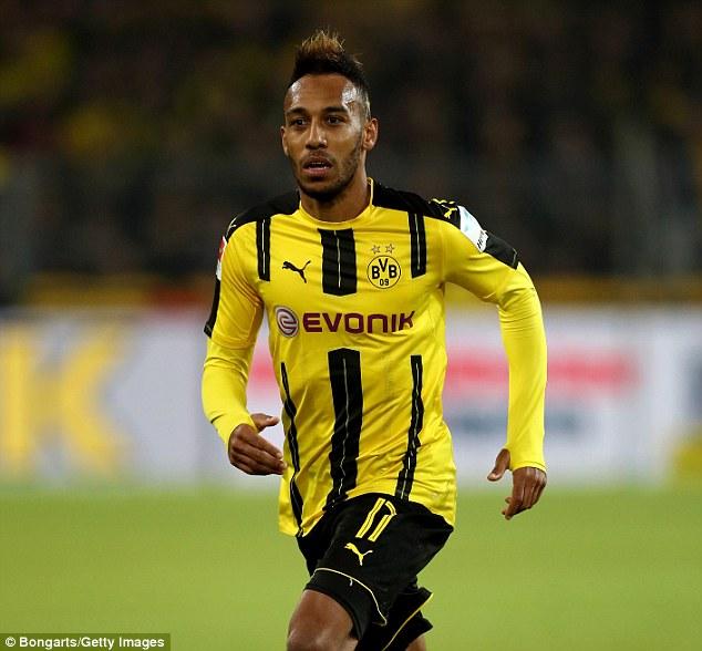 Pierre Emerick Aubameyang Is The Latest Name Added To The Borussia Dortmund Injury List