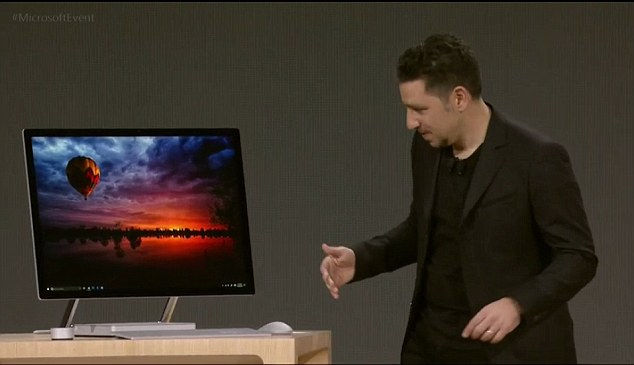 Microsoft Unveils Surface Studio Its First All In One