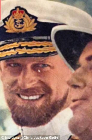 The Duke of Edinburgh pictured in 1957