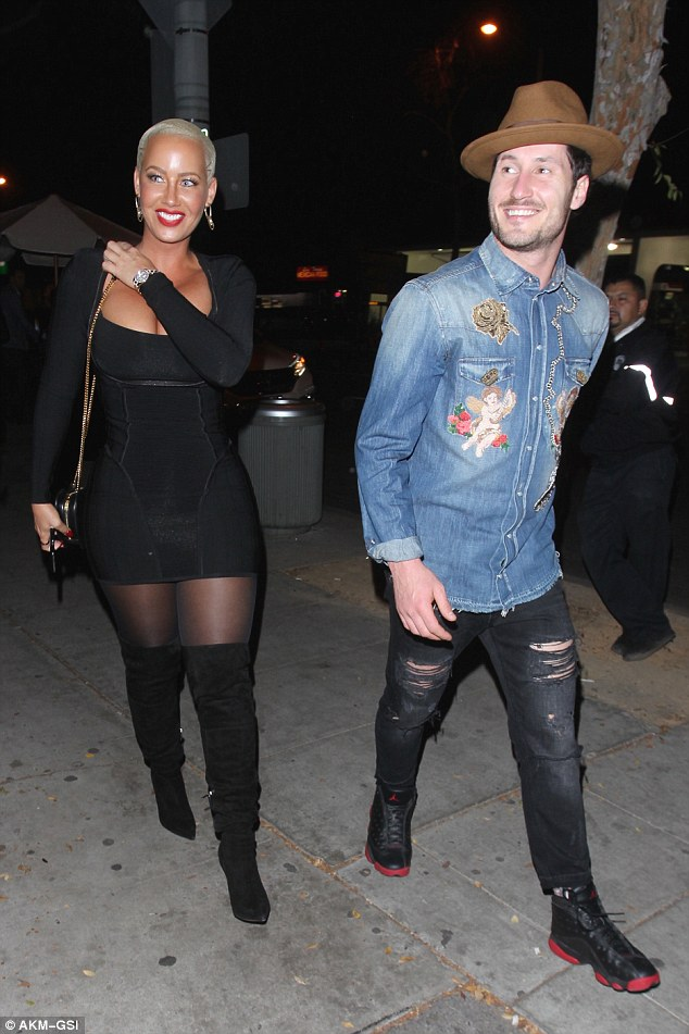 Image result for Amber Rose and Val Chmerkovskiy