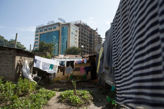 "The Ethiopian government wants the Kazanches neighbourhood in Addis Ababa to be ""middle-income"" by 2025, meaning a gross national income of more than $1,000 ..."