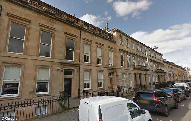 Bakr Mohammed bin Laden, 68, owns Woodside House (pictured) in Glasgow, which opened earlier this year, through UK-registered firm Kelso Estates