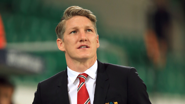 Image result for Man united Schweinsteiger 'golden handshake'