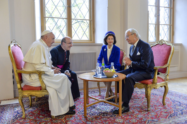 Pope Francis' trip to Sweden was the first papal visit to the country for more than 25 years