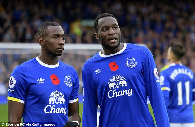 Yannick Bolasie (left) and Romelu Lukaku both speak the same African language