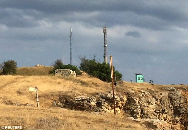 A Russian military facility at the Fiolent Cape near Sevastopol, Crimea, where military resources