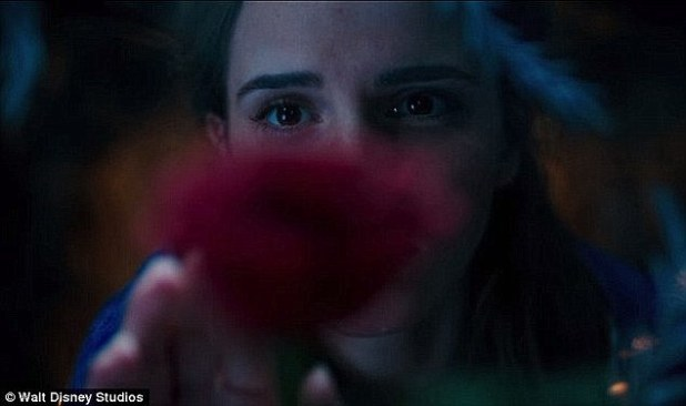 Just a glimpse:Until now, Disney has only offered a small glimpse of what's to come, including a teaser which shows just Emma's eyes as she reaches for the Enchanted Rose