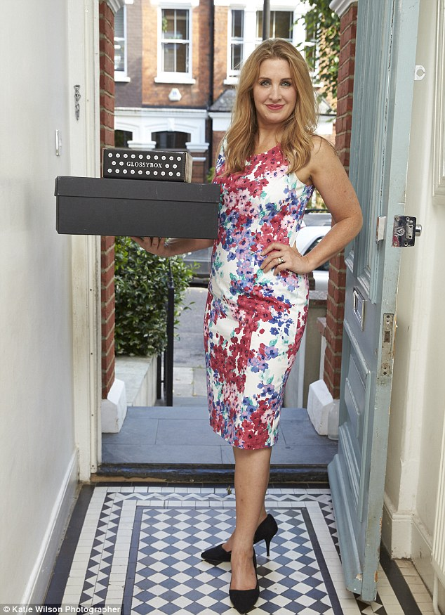 Doddle, a click-and-collect service that has 50 High Street branches, is now paying people to use their homes as alternative collection points (Tanith, pictured above in her hallway)