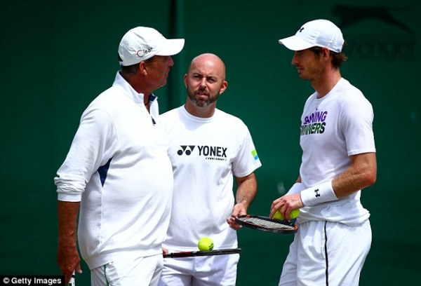 Image result for Ivan Lendl tells Andy Murray to forget world No 1 ranking and concentrate on winning more Grand Slams