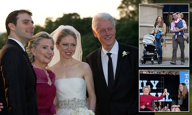 Chelsea Clinton 'used Foundation resources for wedding', according to Wikileaks emails
