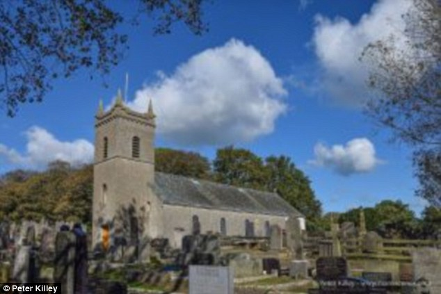 Dr Gomes was vicar for the parish ofArbory and Castletown on the Isle of Man and gave services at the Arbory Church of St Columba, pictured
