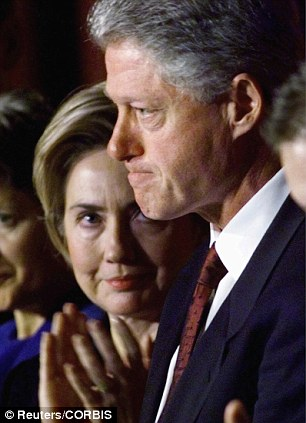 History will not be made by a wife following her two-term husband into the Oval Office (Clintons in 1999)
