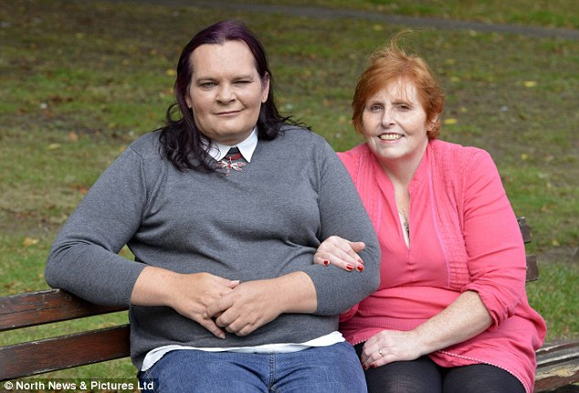 Stephanie, left, and Fiona Bosanquet say their marriage is 'stronger than ever' after the former started living as a woman