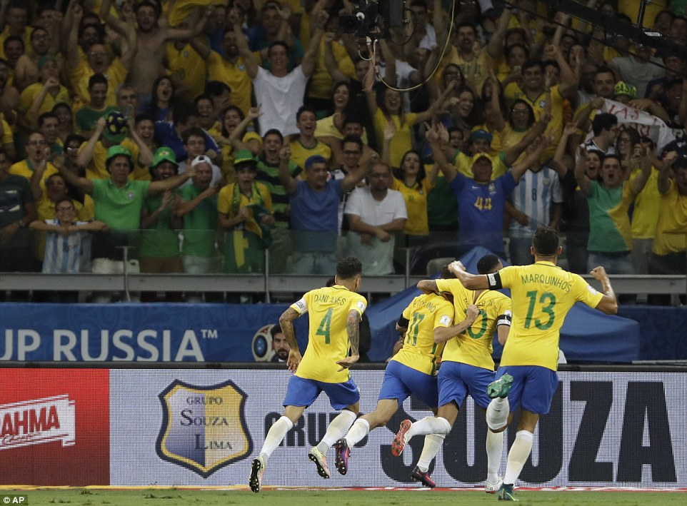 It was an impressive display from Tite's side, who now top the South American World Cup qualifying standings