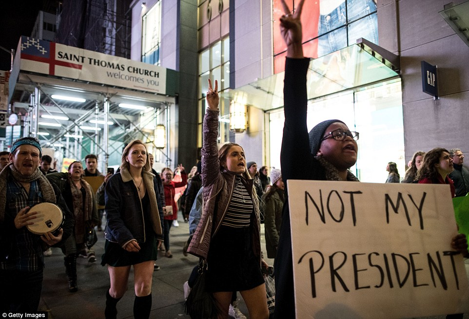 Image result for crying anti-trump