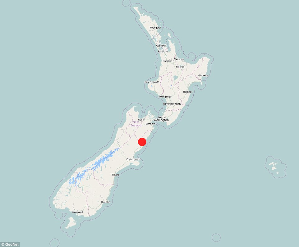 The 6.3 magnitude aftershock struck just north of where a massive 7.8 earthquake struck hours earlier. Authorities are now warning that there is a 12 per cent chance another major quake of a magnitude greater than 7.0 may strike New Zealand today