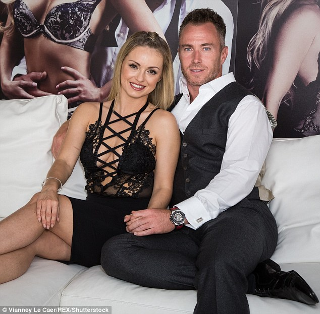 Jealous? James Jordan spoke out about the extra attention his wife will no doubt receive, via a live broadcast on Saturday night