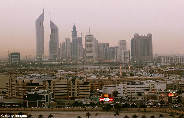 A British woman allegedly raped by two men from the UK faces jail in Dubai (file picture) after police accused her of having sex outside marriage