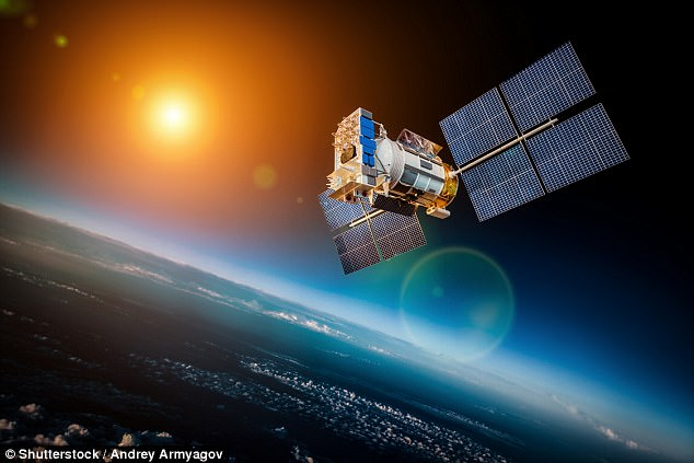 Elon Musk's company SpaceX plans to release 4,000 satellites into orbit in instalments between 2019 and 2024 with initial test to be carried out by the end of this year (stock image)