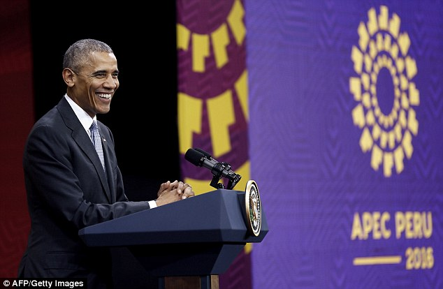 President Barack Obama said he's confident he won't be the last Democrat to be elected to the highest officer in the U.S. in his last-ever foreign address