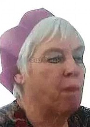 Violet Price (pictured), 80, had been missing from her home in Moustier village