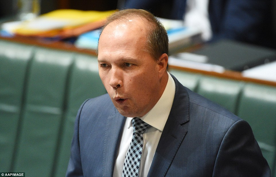 Immigration Minister Peter Dutton has been slammed for his comments about Lebanese-Muslim immigrants