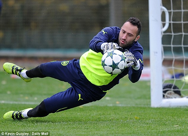 Champions League goalkeeper David Opsina looks set to keep his place between the sticks